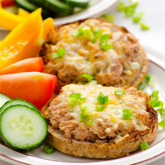 Clean Eating Tuna Melt Recipe