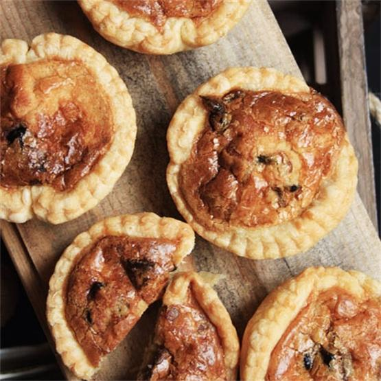 Pancetta, Onion and Gruyère Tartlets