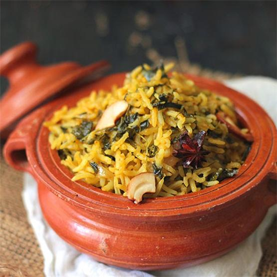 Desi Health Bites - Methi Brown Rice Pulao
