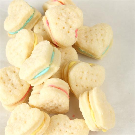 Melt in your mouth Cream Wafer sandwich cookies
