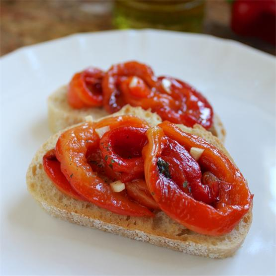 Italian Red Pepper Antipasto is delicious and so easy to make.
