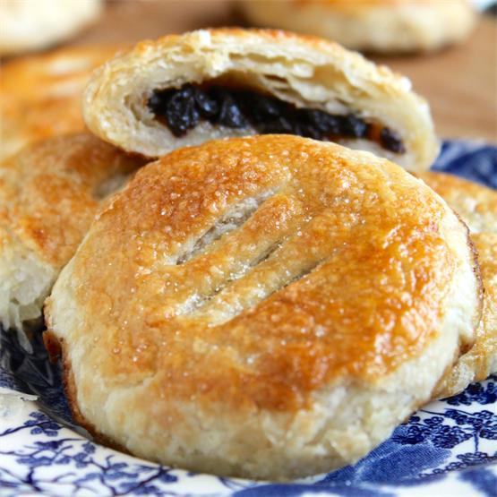 Eccles Cakes; a Traditional English sweet