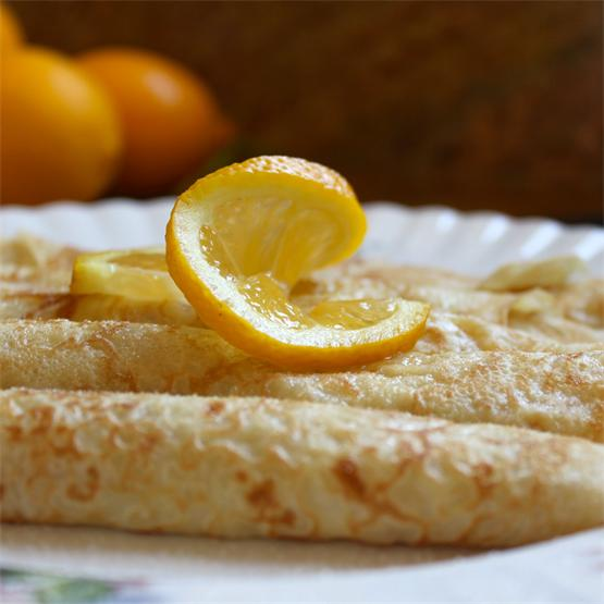 Traditional Shrove Tuesday Pancakes (Crepes)