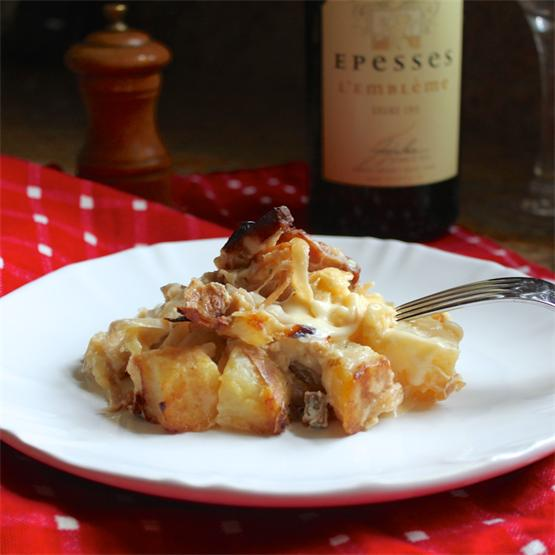 Tartiflette: a comforting French potato, cheese and bacon dish