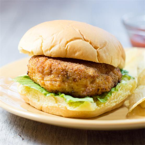 Vitamin Packed Chicken Patties