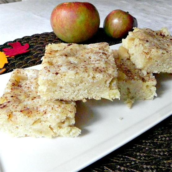 Apple Pie Bars - Full of apple and spice
