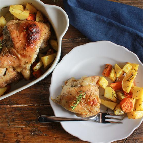 Italian Herb Roasted Chicken