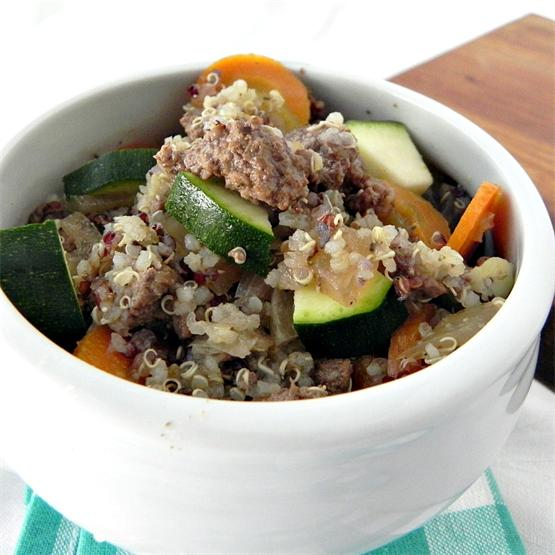 Beef and Quinoa Soup
