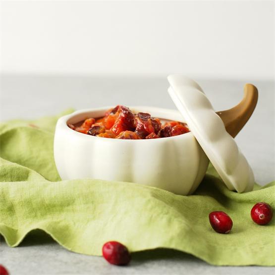 Kabocha Squash and Cranberry Chutney