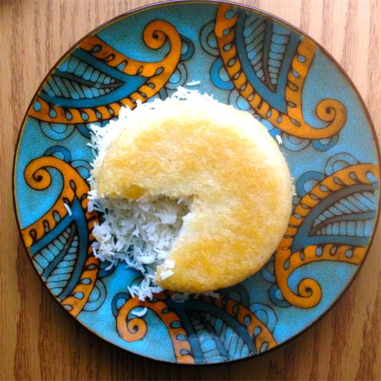 Persian Style Rice with Crispy Golden Crust