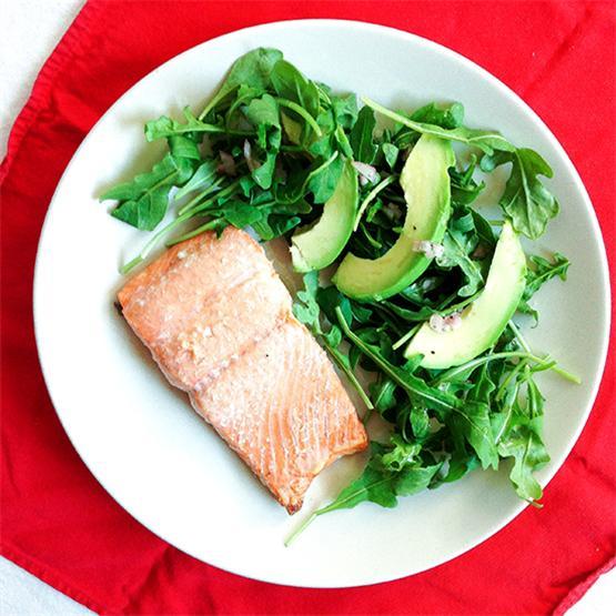 Easy oven baked salmon
