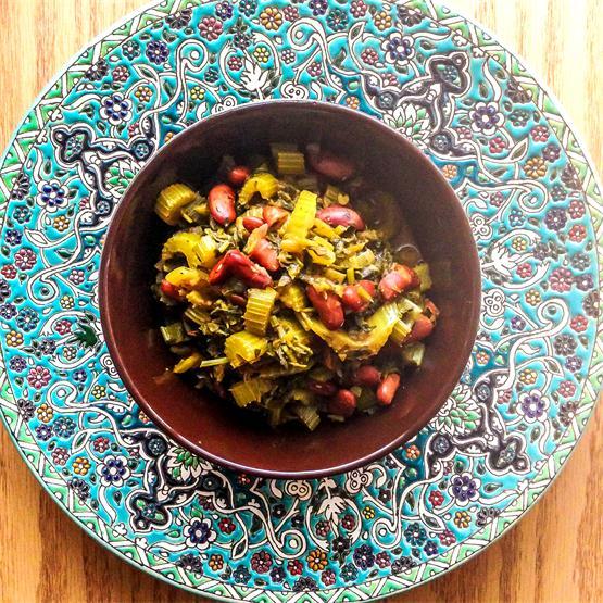 Persian Celery Stew