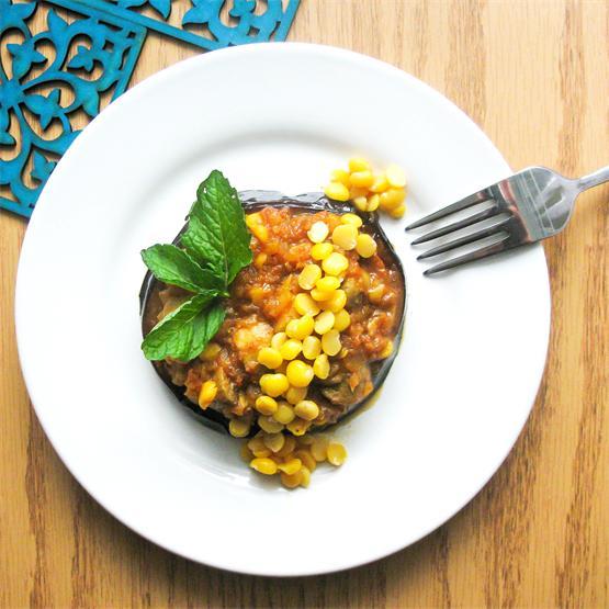 Persian Split chickpea Stew - Vegetarian