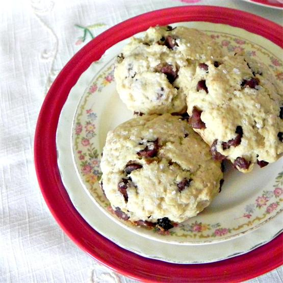 Chocolate Chip Cherry Scones