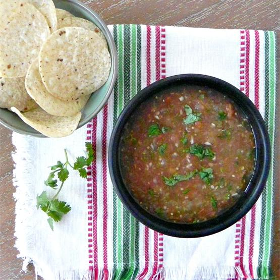 Salsa Casera (quick and easy)