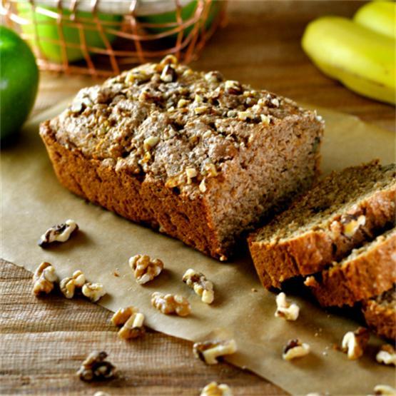 Cinnamon BreadWith Apples & Walnuts