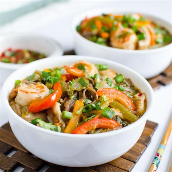 Asia Soba Noodle Soup
