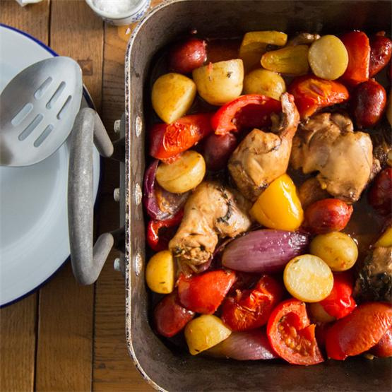 Easy Chicken Tray Bake