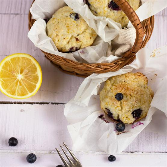 Blueberry - Lemon Muffins