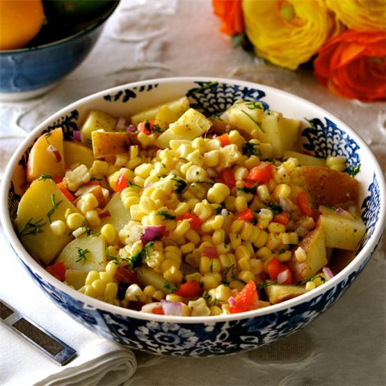Healthy Oil-Free Potato Salad