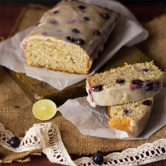 Blueberry, Earl-Grey and Lemon Loaf