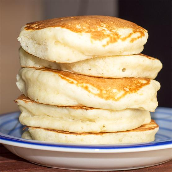 Fluffy, Fluffy Pancakes (No buttermilk required!)