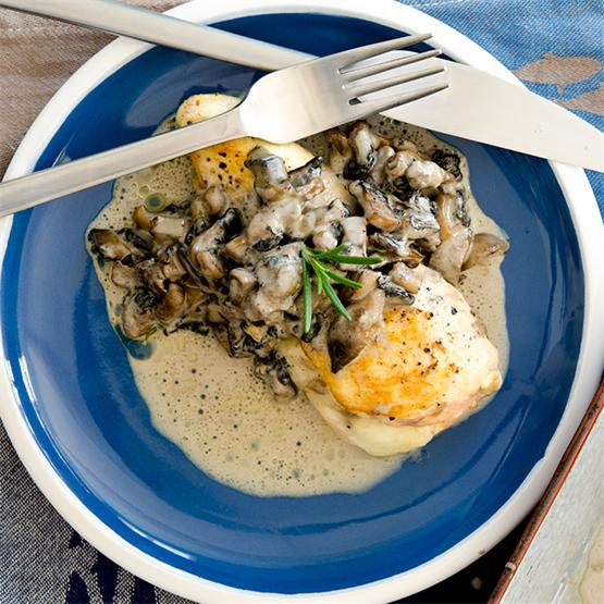 Stuffed Chicken Breast with Mushrooms