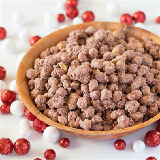 Cinnamon Vanilla Candied Peanuts