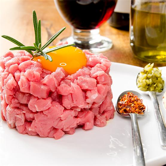 French Style Steak Tartare