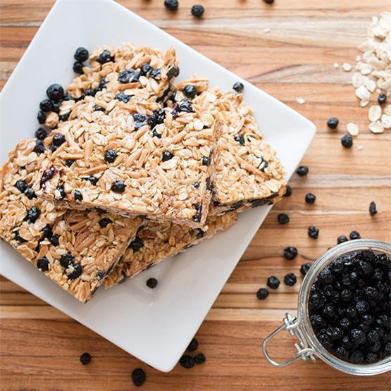 Meal-Prep Breakfast Granola Bars