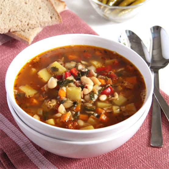White Bean and Vegetable Soup