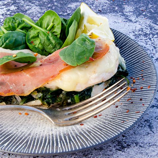 Scrumptious Chicken Saltimbocca