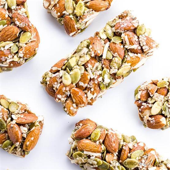 Sugar-Free Granola Bars - Kind Bar Recipe Copycat (Paleo)