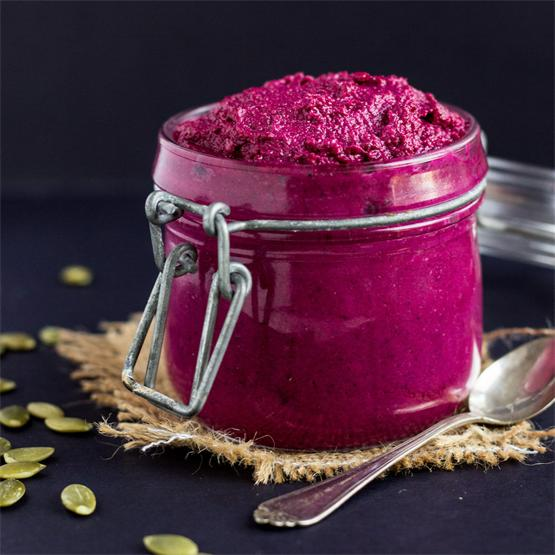 Beetroot Pumpkin Seed Pesto