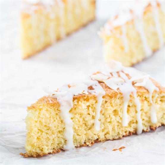 Italian Coconut Cake (Gluten-Free)