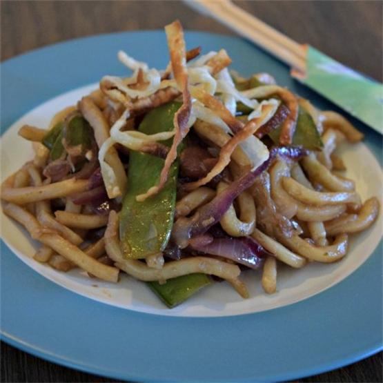Yaki-Udon (Udon Stir Fry)