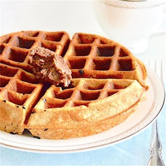 Buttermilk Pecan Waffles