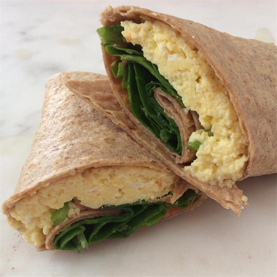 Scrambled Egg Wrap
