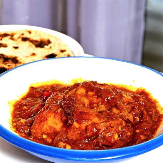 Kashmiri mirch chicken