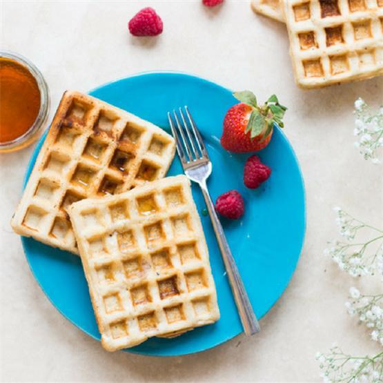 Gluten-Free Vegan Waffles