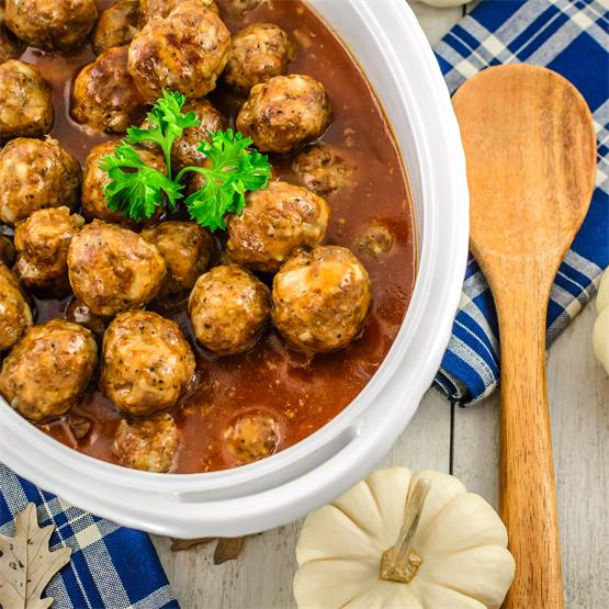 Take Along Sweet and Sour Meatballs