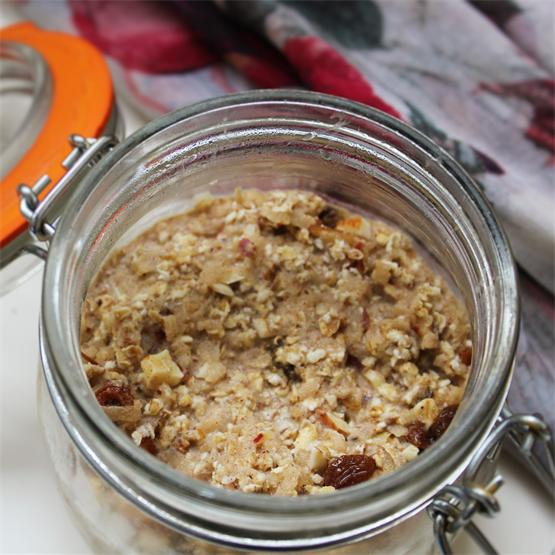 Apple and Almond Overnight Oats
