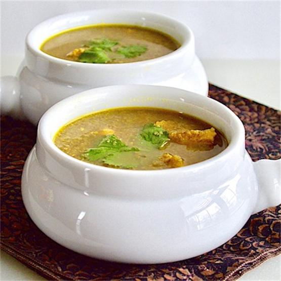Hearty Middle Eastern Chicken Soup