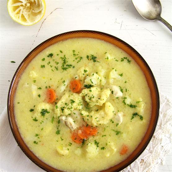 Chicken Cauliflower Soup