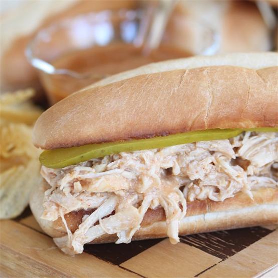 Money-Saving Slow Cooker Shredded BBQ Chicken