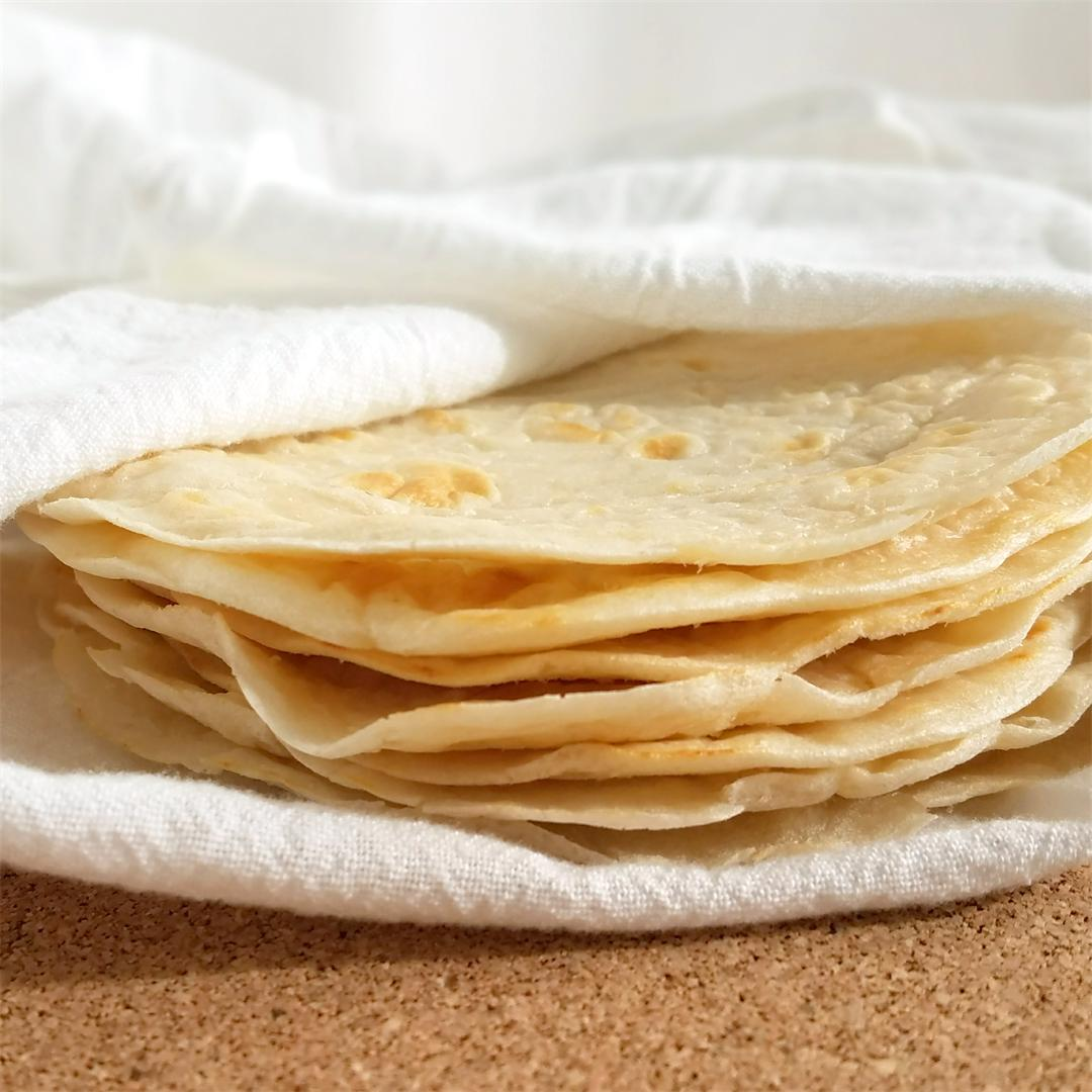 The Best Gluten Free Tortillas / Wraps - Vegan, Paleo, Whole30