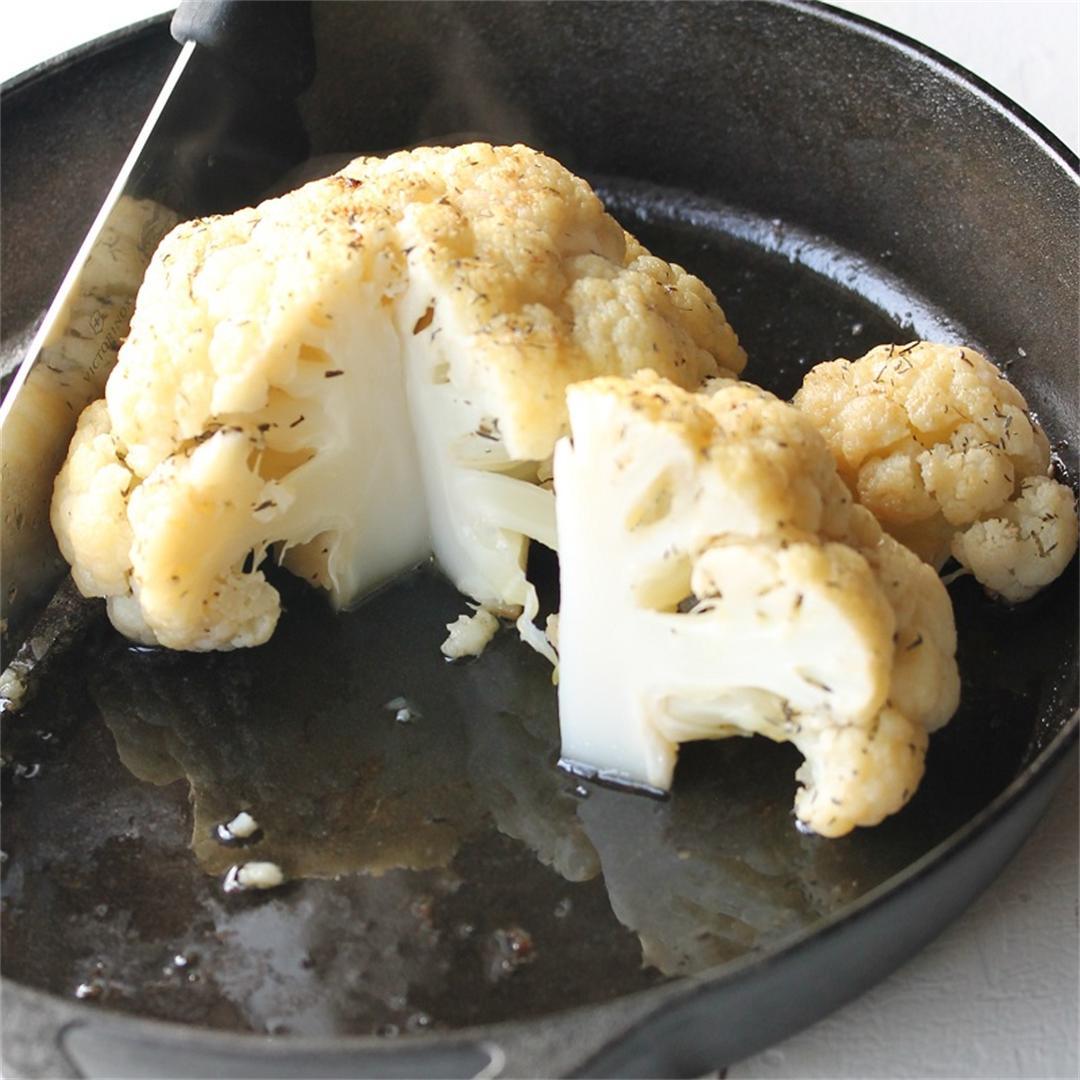 Truffled Whole Roasted Cauliflower