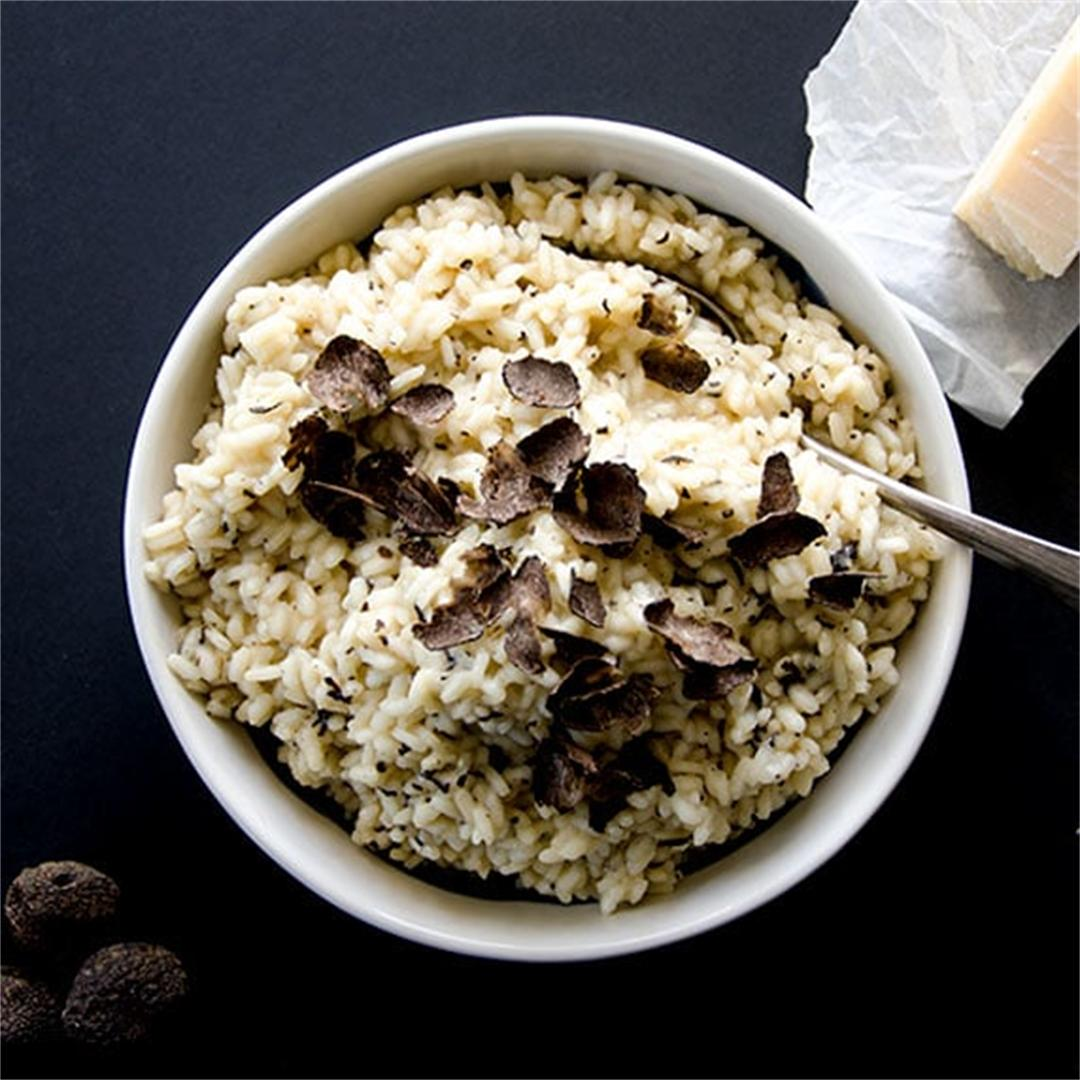 Fresh Black Truffle Risotto