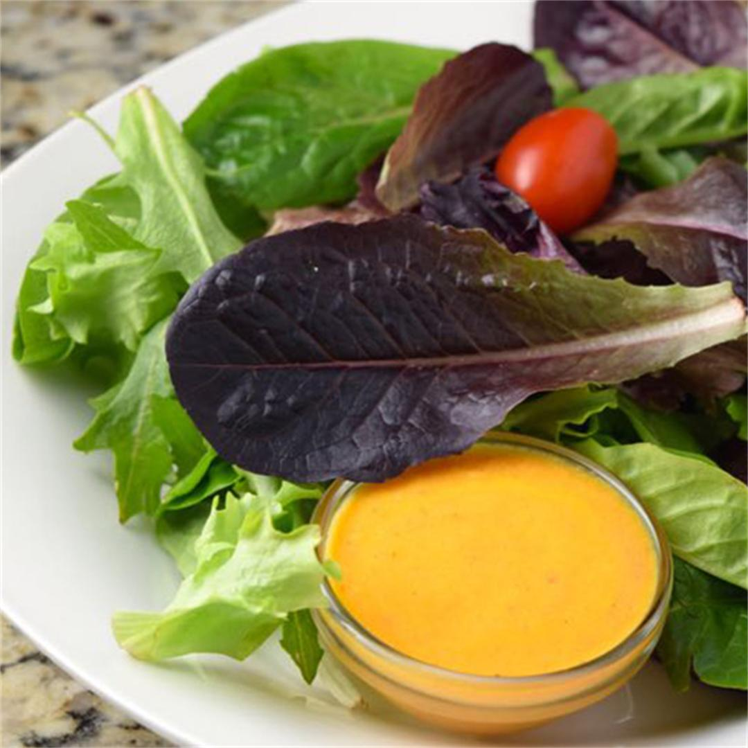 Orange Carrot Vinaigrette