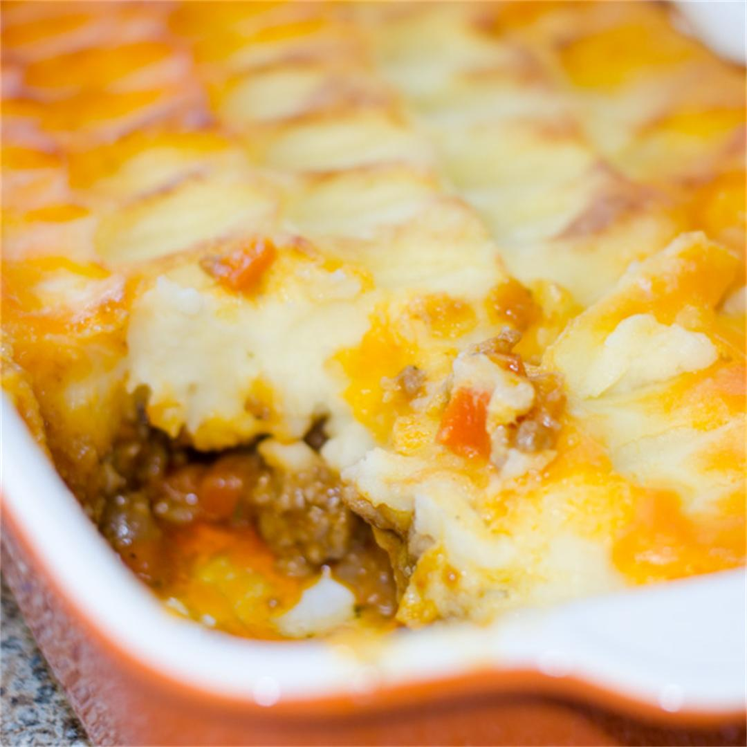 Shepherds Pie. The ultimate comfort food.